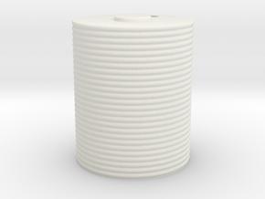 1/35 Scale Corrugated Iron Water Tank 5 ft 4 in Di in White Natural Versatile Plastic