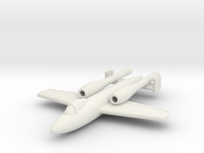 (1:144) Argus-Junkers Ground Attack Project in White Natural Versatile Plastic