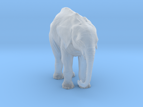 ho_scale_elephant_H in Smooth Fine Detail Plastic