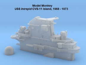 1/700 USS Intrepid CVS-11 Island 1968-1973 in Smoothest Fine Detail Plastic