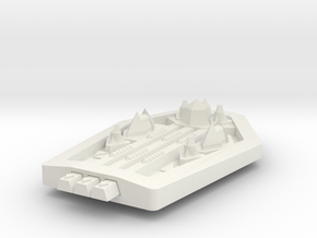 PH201 Hazarak Light Cruiser in White Natural Versatile Plastic