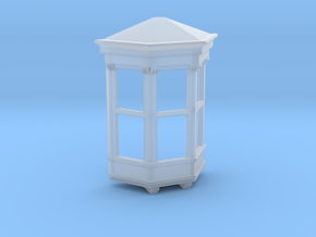 Bay Window in Smooth Fine Detail Plastic