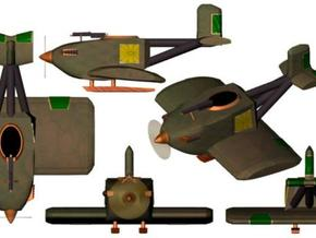 Japanese MiniPlane 6mm x8 in Smooth Fine Detail Plastic