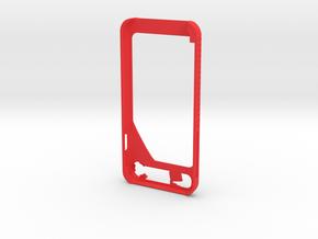 Iphone 7  in Red Processed Versatile Plastic