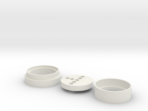 Inception (KR Blade) Neopixel Adapter  in White Natural Versatile Plastic