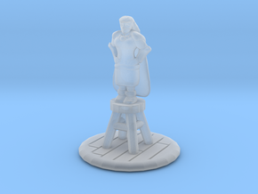 Halfling Rogue on Barstool 25mm in Smoothest Fine Detail Plastic