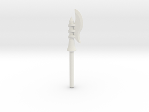 MOTU Inspired Custom Lego Scareglow Staff in White Natural Versatile Plastic