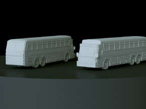 1972 Eagle 5 Bus Scale: 1:144 in Smooth Fine Detail Plastic