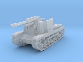 105mm gun - T22  1:144 in Smooth Fine Detail Plastic