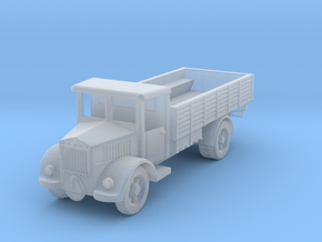 Lancia3ro truck  1:285 in Smooth Fine Detail Plastic