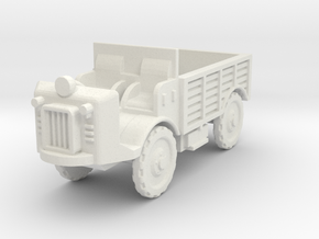 Autocarretta 35 desert 1:87 in White Natural Versatile Plastic