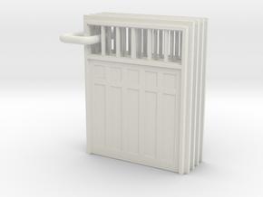 SP Door Type 2 scaled in White Natural Versatile Plastic