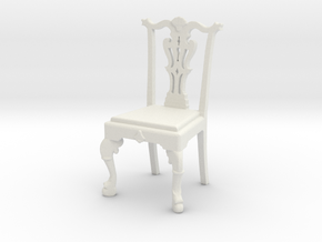 Chippendale Chair in White Natural Versatile Plastic