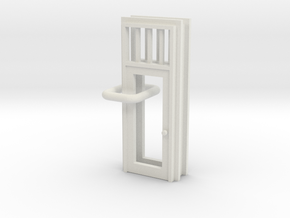 SP Door Type 3 x 2 scaled in White Natural Versatile Plastic