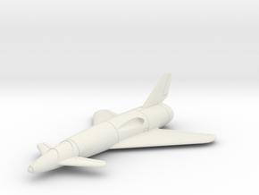 """(1:144) Dornier Canard """"Cloverleaf"""" in White Natural Versatile Plastic"""