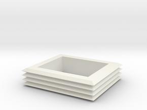 Matchbox RV Accordion  in White Natural Versatile Plastic