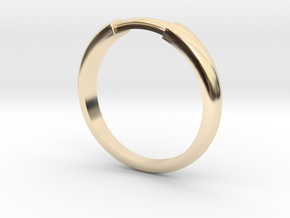 Wrapped rings in 14K Yellow Gold: 7.5 / 55.5