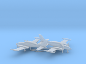 Cessna 310R in Smooth Fine Detail Plastic: 6mm