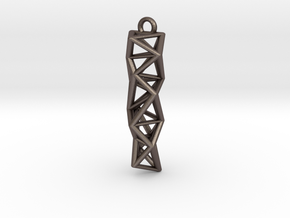 Structure I  in Polished Bronzed Silver Steel