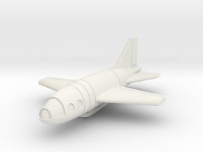 (1:144) Junkers/Doepp Rocket Fighter in White Natural Versatile Plastic