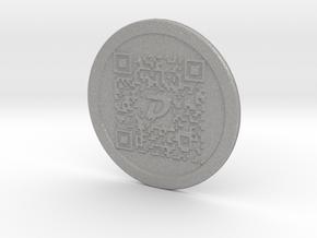 DigiByte Metal Wallet in Aluminum