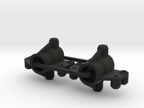 Kyosho Maxxum FF Rear Knuckles in Black Natural Versatile Plastic