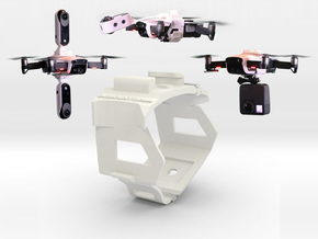 DJi Mavic Air Beltmount for top & bottom camera pl in White Natural Versatile Plastic