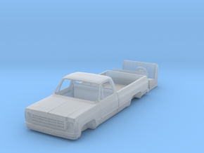 1/64 1970's Chevy K10 Pickup Truck in Smooth Fine Detail Plastic