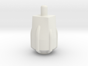booster in White Natural Versatile Plastic