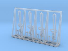 N 4x Fuel Crane For Loading Bridge in Smooth Fine Detail Plastic