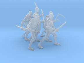 overdressed mall ninja gang in 32mm in Smooth Fine Detail Plastic