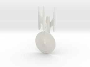 Federation-Class Refit Dreadnought 1:7000 in White Natural Versatile Plastic