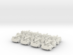 Buggy x8 in White Natural Versatile Plastic