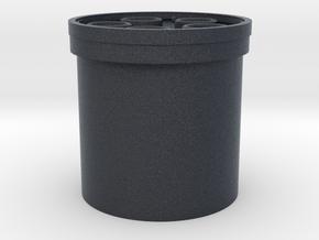 "Praco-Bolsey blade plug 7/8"" in Black Professional Plastic"