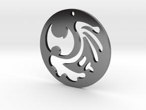 The Dark Souls Pendant in Antique Silver