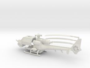 035D Modified Gazelle 1/72 in White Natural Versatile Plastic
