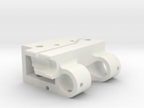 GoPro Audio Adapter Case Style #1 in White Premium Versatile Plastic