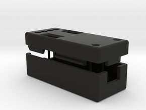 CANable0.2_CaseSet in Black Natural Versatile Plastic