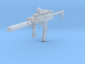 1/12th MP7 tactical 2 in Smooth Fine Detail Plastic