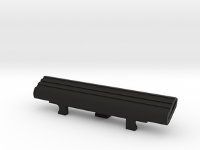 Bridge Pick Holder -fits Badass II Bridge - Lines in Black Premium Versatile Plastic