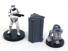 4-Pack of Star Wars Loot Crate Wargaming Terrain in Smooth Fine Detail Plastic