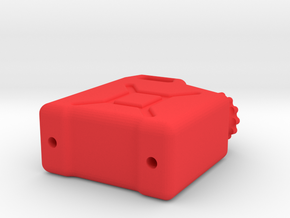1/10 Fuel Canister in Red Processed Versatile Plastic
