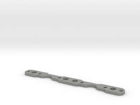 Header Plate for RC4WD V8 (type 1) in Gray Professional Plastic