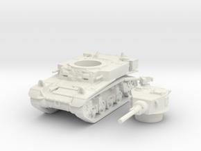 M3 a1 stuart scale 1/87 in White Natural Versatile Plastic