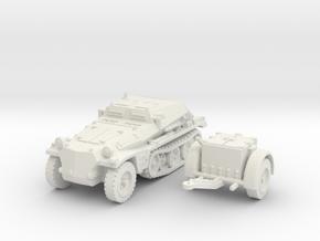 sdkfz 252 scale 1/87 in White Natural Versatile Plastic