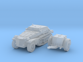 sdkfz 252 scale 1/144 in Smooth Fine Detail Plastic
