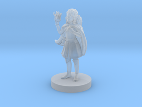 Female Halfling Sorceress in Smooth Fine Detail Plastic