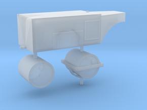 sh3193 - Straßenwalze mit Persenning 1:120 TT in Smooth Fine Detail Plastic