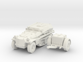 sdkfz 253 scale 1/87 in White Natural Versatile Plastic