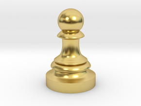 Pawn - F[1,0M/1,1C] Classic in Polished Brass